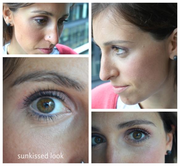 Sun kissed look